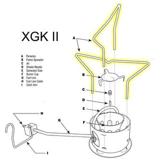 C/Part XGK Shaker Panwire Assembly