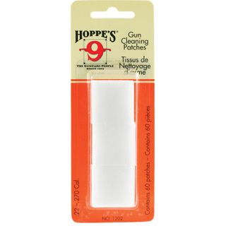 Hoppes Clng Patches #2 .22-.270Cal 60pk