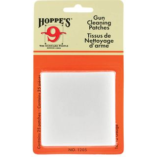 Hoppes Cleaning Patches #5 16-12G 25pk