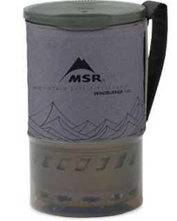 MSR WindBurner - 1.0L Pot. Gray