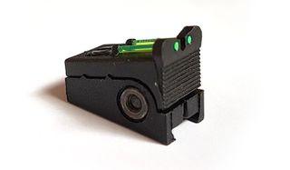 Pom/Wiz Fiber Optic Rear Sight Sml Asmbl