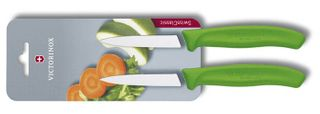 Victorinox Paring Knife Green 2 Pack