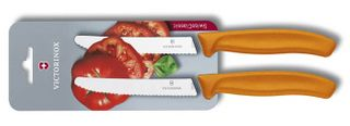 Victorinox Tomato Knife Orange 2 Pack