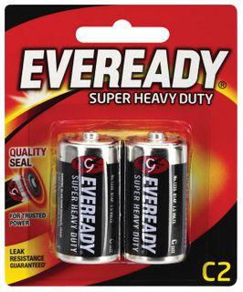 Eveready S' Heavy Duty Batteries C 2/pk