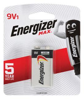 Energizer Batteries 9V 1/Pk      522BP-1
