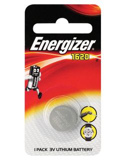 Energizer Batteries 3V CR1620 - Each