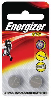 Energizer Batteries A76/LR44 2Pk A76BP2