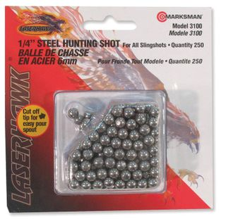 "Marksman Steel Shot 1/4""            3100"