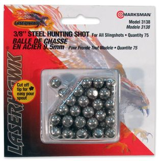 "Marksman Steel Shot 3/8""            3138"