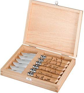 Opinel #8 Animalia Set 002342 (6 knives)