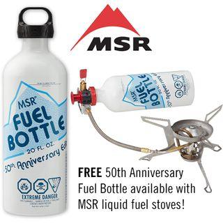 MSR 591ml 50th Anniversary Fuel Bottle