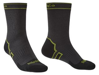 BD StormSock Lightwgt Boot Grey/Lime L