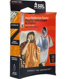 SOL Poncho Heat Reflective 0140-6001