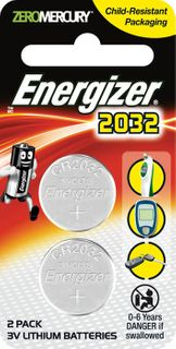 Energizer Batteries 3V CR2032 2-pack