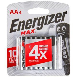 Energizer Batteries AA 4/Pk   E91BP-4