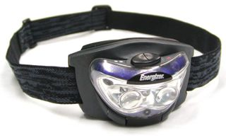 Energizer 3 LED Headlamp: 60 Lumen