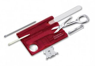 Victorinox SwissCard Nailcare Red