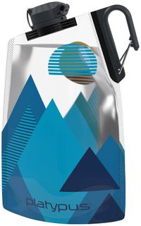 Platy DuoLock Bottle .75L -Blue Peaks'20