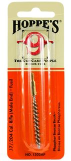 Hoppes Bronze Brushes .17/.204 Cal Male