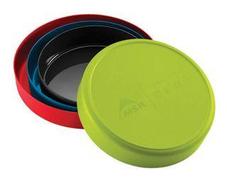 MSR Deep Dish Plate Small - Red