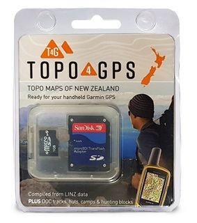 Topo4GPS: NZ Topo Maps For Garmin GPS