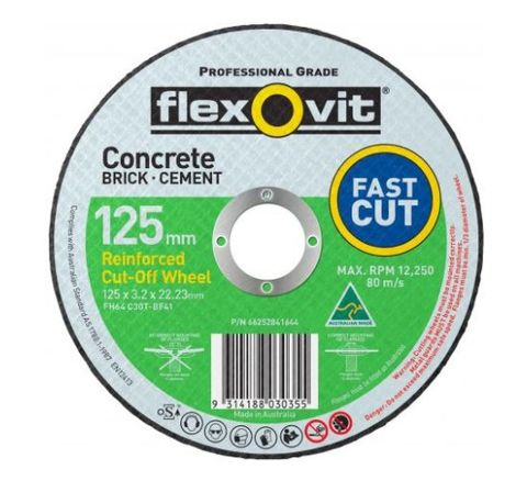 FLEXOVIT 127 X 3.2 X 22 STONE CUT OFF