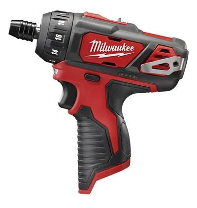 "MILWAUKEE M12 1/4"" HEX 2-SPEED SCREWDRIVER - TOOL ONLY"