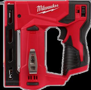 MILWAUKEE M12 12V LI-ION CORDLESS 10MM CROWN STAPLER - TOOL ONLY