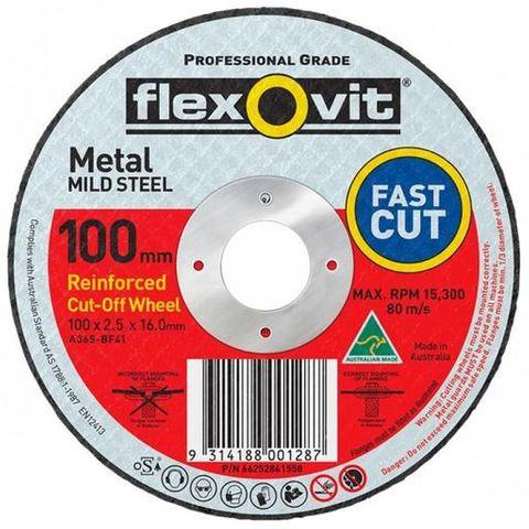 FLEXOVIT 102 MM METAL CUT OFF WHEEL