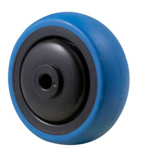 "3"" BLUE RUBBER WHEEL"