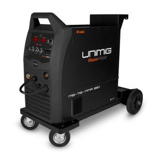 UNIMIG RAZOR 250 COMPACT MIG/TIG/STICK WELDER