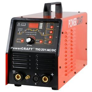 LINCOLN ELECTRIC POWERCRAFT TIG 201 AC/DC WELDER