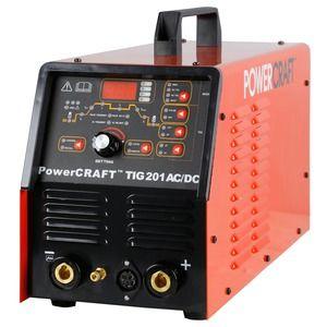 LINCOLN ELECTRIC POWERCRAFT TIG 201 AC/DC WELDER