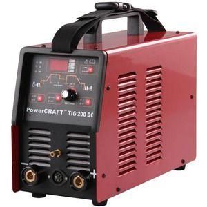 LINCOLN ELECTRIC POWERCRAFT TIG 200 DC WELDER