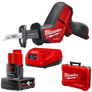 MILWAUKEE M12 FUEL 12V LI-ION 4.0AH HACKZALL RECIPRO SAW KIT