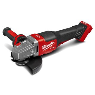 "MILWAUKEE 18V LI-ION FUEL 125MM (5"") ANGLE GRINDER WITH RAPID STOP & DEAD MAN PADDLE SWITCH - TOOL ONLY"