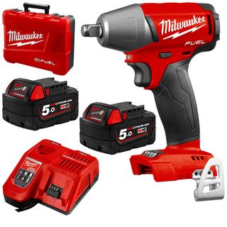 """MILWAUKEE M18 FUEL 18V LI-ION 1/2"""" COMPACT IMPACT WRENCH WITH FRICTION RING KIT"""