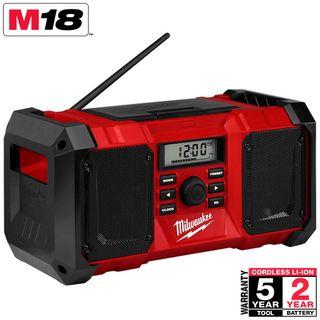 MILWAUKEE M18 18V LI-ION JOBSITE RADIO - TOOL ONLY