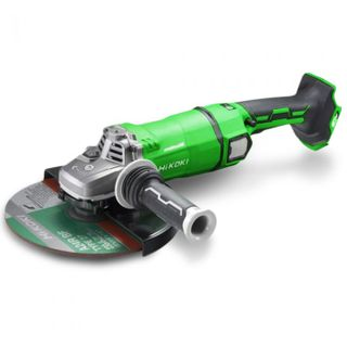 "HIKOKI 36V LI-ION BRUSHLESS MULTIVOLT 230MM (9"") ANGLE GRINDER – TOOL ONLY"