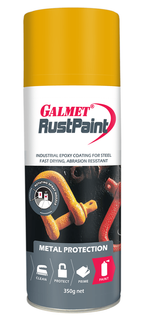 GALMET RUST PAINT EPOXY – GOLDEN YELLOW 350G