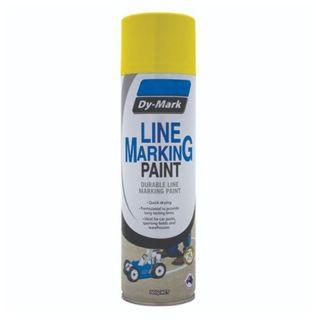 DYMARK DURABLE LINE MARKING PAINT - YELLOW 500G