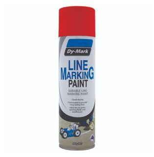 DYMARK DURABLE LINE MARKING PAINT - RED 500G