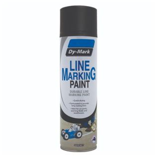 DYMARK DURABLE LINE MARKING PAINT - MATT BLACK 500G