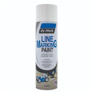 DYMARK DURABLE LINE MARKING PAINT - WHITE 500G