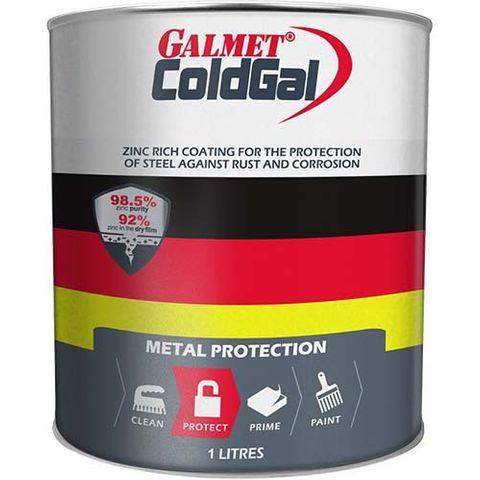 GALMET COLDGAL GALVANISED PAINT – 1LTR