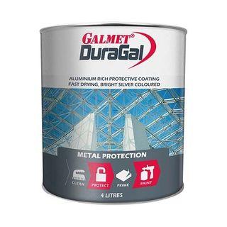 GALMET DURAGAL – BRIGHT SILVER 4LTR