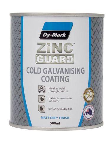 DYMARK ZINC GUARD COLD GALV & COATING - MATT GREY 1LTR