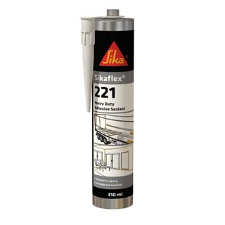 SIKAFLEX 221 HEAVY DUTY ADHESTIVE SEALANT - GREY 310ML