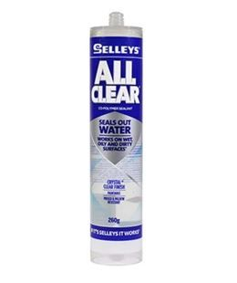 SELLEYS ALL CLEAR SILICONE - 260G