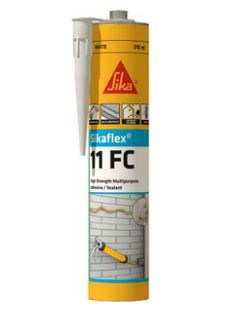 SIKAFLEX 11FC MULTIPURPOSE ADVESIVE - BLACK 310ML